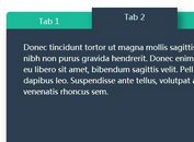 Stylish Tabbed Navigation with jQuery and CSS3