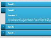 Stylish jQuery Accordion Plugin with CSS3 Animations