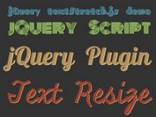 Super Simple jQuery Responsive Text Resize Plugin - textStretch.js