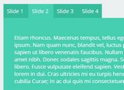 Tabs-style Responsive Content Slider Plugin For jQuery - jqSlide