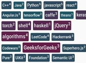 Simple Tag Cloud In JavaScript - jQuery Tagcloud.js