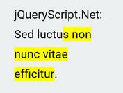 Text Highlighting & Typing Effects In jQuery - typeLighter.js