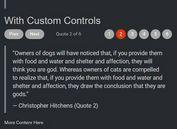 Customizable Text Slideshow Plugin - jQuery Quovolver