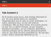 Responsive Tabbing with Accordion In Mobile View - mTab