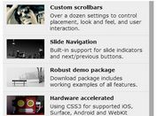 Touch Enabled & Responsive Vertical Slider Plugin For jQuery - iosSlider Vertical