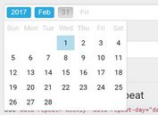 User-friendly HTML5 Date Picker Plugin For jQuery - WBN Datepicker