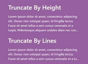 Versatile Responsive Text Truncation Plugin For jQuery - Truncate.js