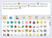 <b>WYSIWYG Emoji Converter / Picker Plugin For jQuery - EmojiOne Area</b>