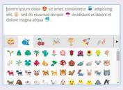 WYSIWYG Emoji Converter / Picker Plugin For jQuery - EmojiOne Area