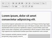 Basic WYSIWYG HTML Editor With jQuery