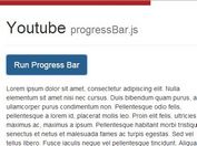 Youtube Inspired Top Loading Bar Plugin with jQuery - progressbar