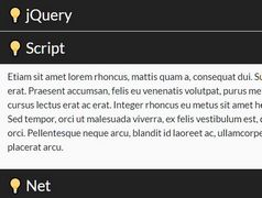 User-friendly Accordion Engine With jQuery - Accrdion.js