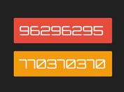 Animated Counting Numbers In jQuery - numScroll.js