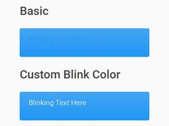 Configurable Blinking Text Effect In jQuery - jblink.js