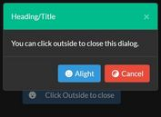 Create Customizable Bootstrap 4 Modal Windows With ModalDialog
