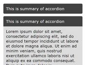 Minimalist Smooth Content Toggle Plugin For jQuery - CM Accordion
