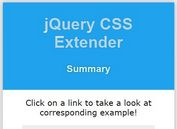 jQuery Plugin For Convenient CSS Manipulation - CSS Extender