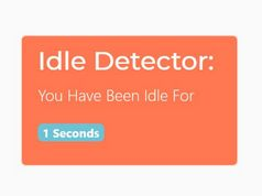 Detect If The User Is Idle In jQuery - Inactivity
