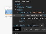 Disable Content Editing In Browser DevTools - jQuery Lock