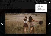 Dynamic Gallery Lightbox In jQuery - Gallery.js