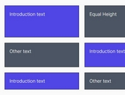 Equal Height Layout With jQuery - equalheights.js