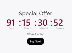 Minimal Event Countdown Timer Plugin - jQuery Multi Countdown