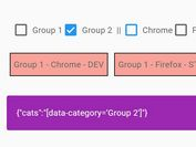 Filter Elements With Checkboxes And Data Attributes - Demano