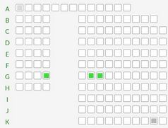 Create Flexible Seating Layouts With jQuery - seatLayout.js