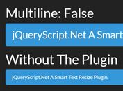 Set Correct Font Size To Fit Container Width - jQuery fit_font