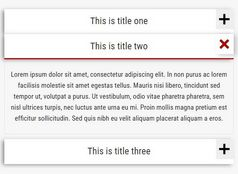 Tiny Responsive Accordion Plugin - HR Accordion Tab