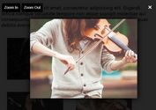 Image Modal With Zoom In/Out - jQuery image-popup.js