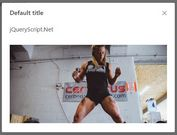 Show Inline Content In A Responsive Modal - jQuery Popup.js