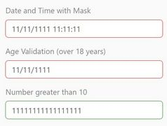 Feature-rich Input Validation & Mask Plugin - InnerFormValidation