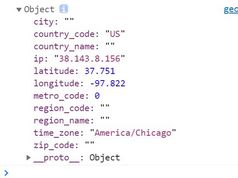 Get IP & Geolocation Info Using jQuery - geo-fetch.js