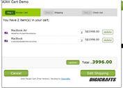 jQuery Ajax Shopping Cart Plugin - Ajax PayPal Cart