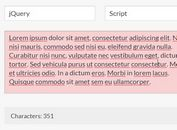 jQuery Character Counter For Multiple Text Fields - countchar