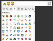 <b>Easy jQuery Emoji Picker For Text Fields</b>