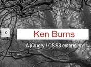 jQuery Extension To Add Ken Burns Effect To Bootstrap Carousel