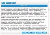 <b>jQuery Fluid Content Scroller Plugin For One Page Navigation</b>