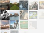 jQuery Fullscreen Photo Wall with CSS3 Transitions