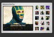 jQuery Gallery Plugin with Animated Shine Effects - ShineTime