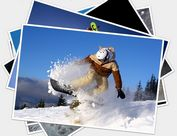 jQuery Image Gallery Plugin With Flipping and Rotation Animations - heapshot