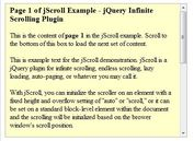 jQuery Infinite Scrolling & Auto-Paging Plugin - jScroll