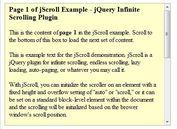 jQuery Infinite Scrolling & Auto-Paging Plugin - jScroll