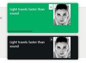 jQuery Notification Plugin with CSS3 Animations - Tikslus Notirious