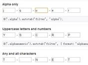 <b>jQuery Plugin For Auto Tab Form Fields - autotab</b>