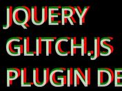 jQuery Plugin For Custom Glitch Text Effect - Glitch.js