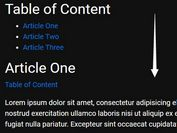 jQuery Plugin For Custom Smooth Page Scrolling Effects - Animate Scroll