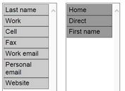 jQuery Plugin For Drag and Drop Multi-Select List Box - fieldChooser
