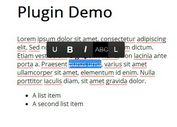 jQuery Plugin For Editable Web Content - Live Edit